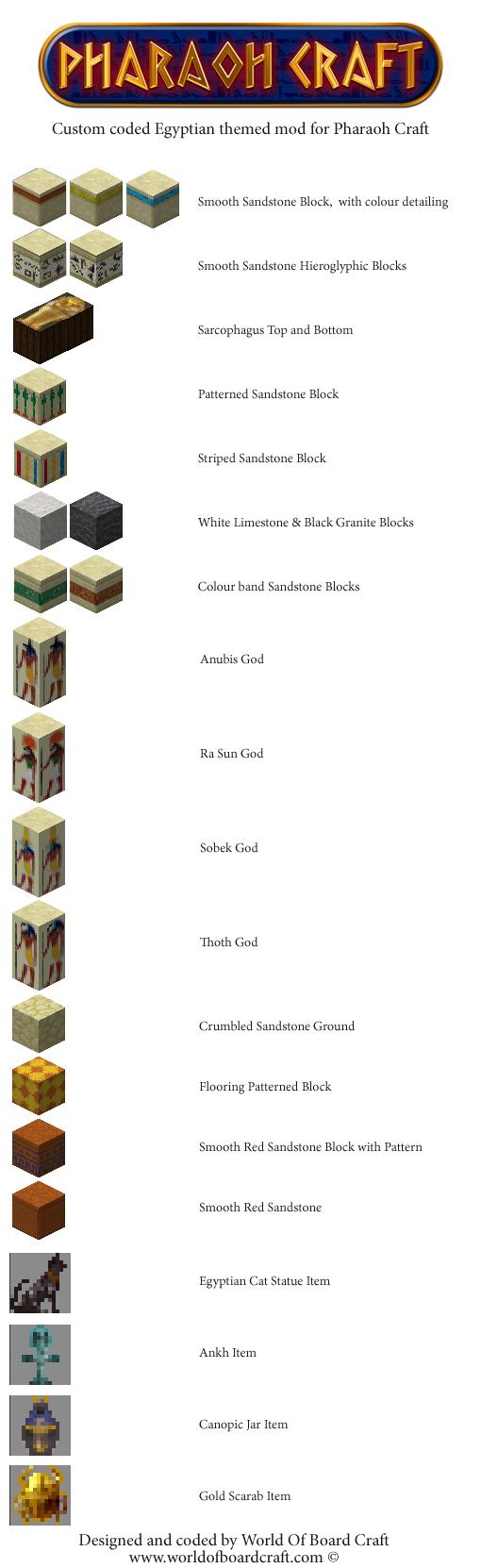 Egyptian-Minecraft-ModWorldOfBoardCraft